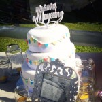 wedding cake, picnic theme